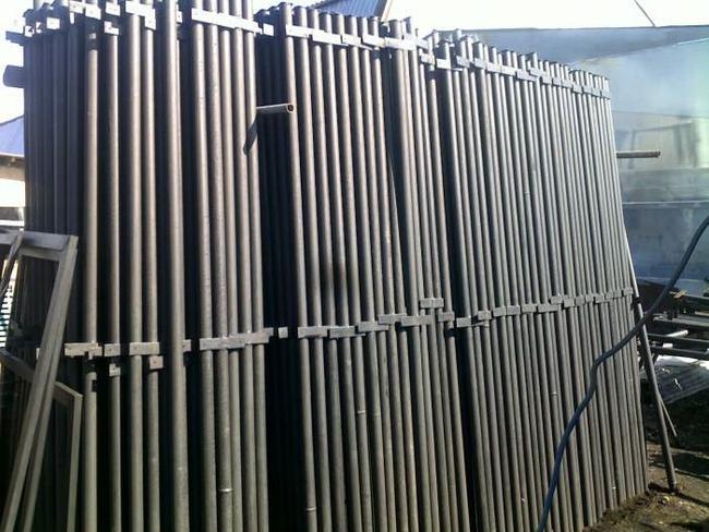Металлические столбы для забора заводские
