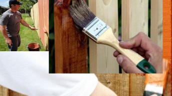 Чем можно покрасить деревянный забор надолго