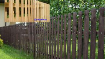 Чем нужно обрабатывать деревянные заборы