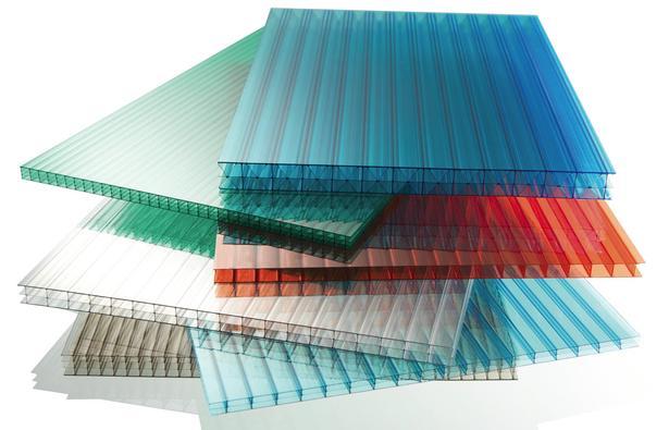 Листы поликарбоната разных цветов