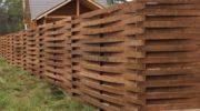 Забор австрийская плетенка — нюансы при строительстве своими руками