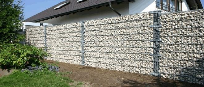 Каменный забор - габион