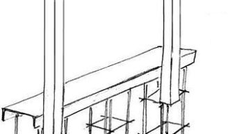 Фундамент для ворот откатного типа