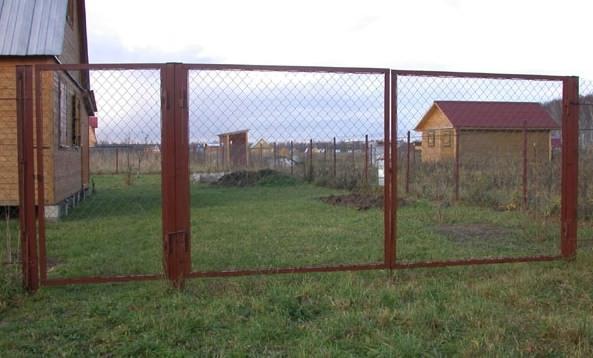 Калитка и ворота из рабицы