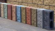 Забор из блоков «рваный камень»