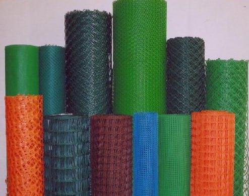 Сетка с полимерным покрытием различных цветов и фактуры