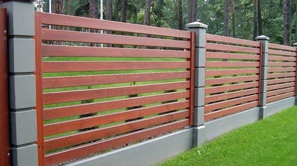 Забор ранчо - продвинутый вариант