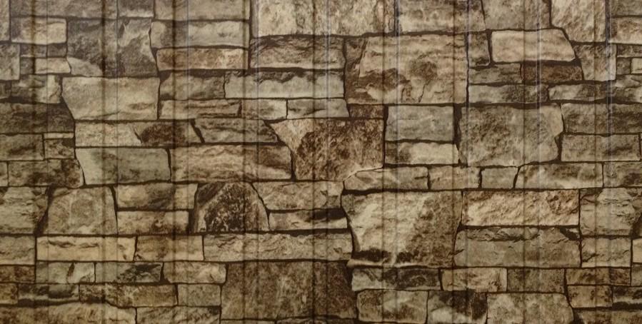 Внешний вид Рисунка профлиста под камень