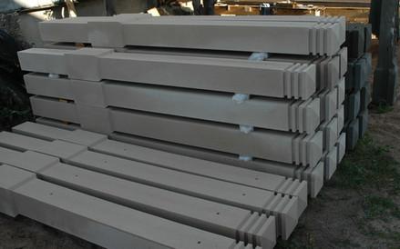 Бетонные столбы для комбинированных заборов
