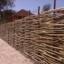 Как сделать забор плетень из прутьев различных кустарников и деревьев своими руками