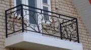 Кованые перила и ограждения балконов