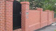 Как выложить качественный забор из кирпича