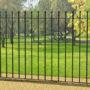 Забор из металлических секций