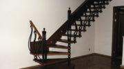 Кованые ограждения для больцевых лестниц